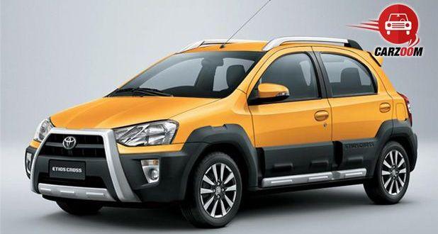 Auto Expo 2014 Toyota Etios Cross Exteriors Overall