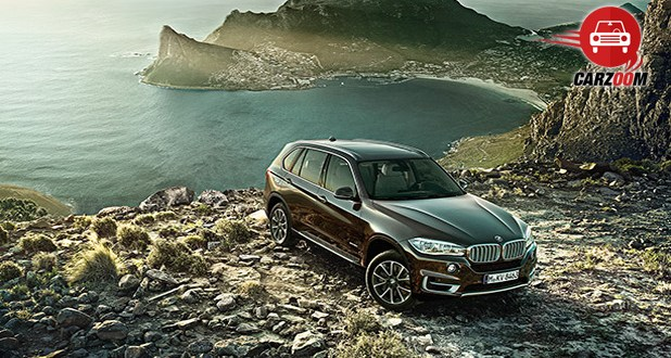 BMW X5 Exteriors Top View