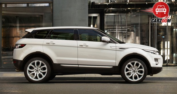 Land Rover Range Rover Evoque Exteriors Side View