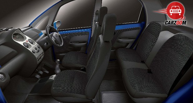 Tata Nano Twist Interiors Seats