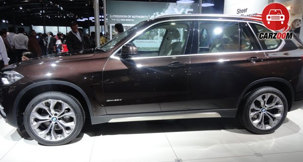 Auto Expo 2014 BMW X5 Next-generation Exteriors Side View