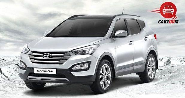 Auto Expo 2014 Hyundai New Santa FE Exteriors Overall