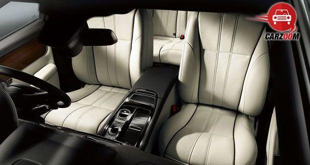 Auto Expo 2014 Jaguar XJ Interiors Seats