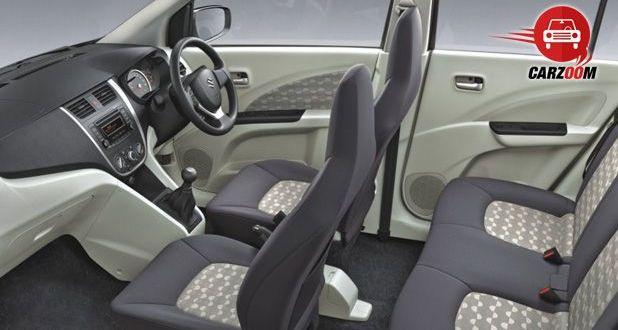 Auto Expo 2014 Maruti Suzuki Celerio Interiors Seats