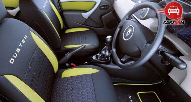Auto Expo 2014 Renault Duster Adventure Interiors Seats