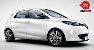 Auto Expo 2014 Renault ZOE Exteriors Overall