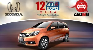 Auto Expo News & Updates - Honda to Showcase Mobilio