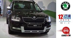 Skoda showcased New Yeti at Auto Expo 2014