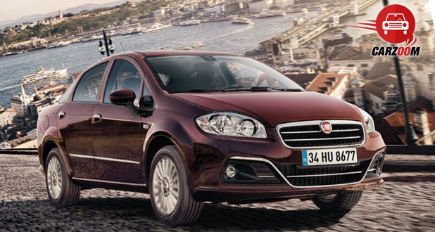 Fiat Linea Exteriors Top View