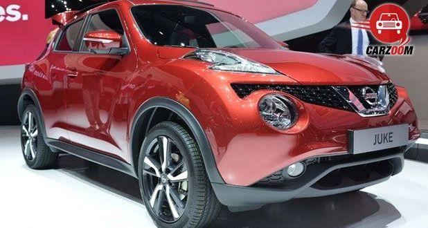Geneva International Motor Show 2014 - NISSAN Juke MC Exteriors Side View