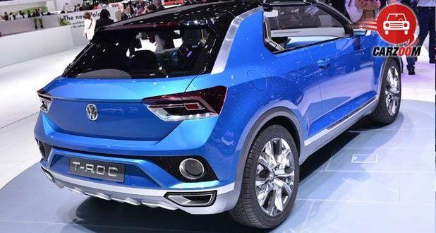 Geneva International Motor Show 2014 - VOLKSWAGEN T-Roc Exteriors Back View