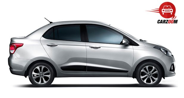 Hyundai Xcent Exteriors Side View