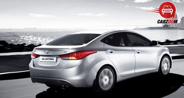 Hyundai Elantra Exteriors Rear View
