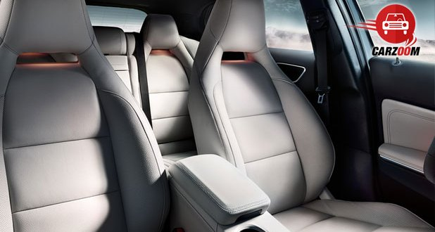 Mercedes-Benz GLA Interiors Seats