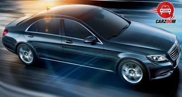 Mercedes Benz Exteriors Top View
