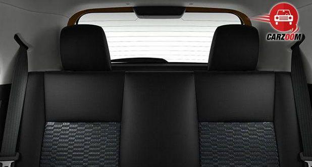 Toyota Etios Cross Interiors Seats