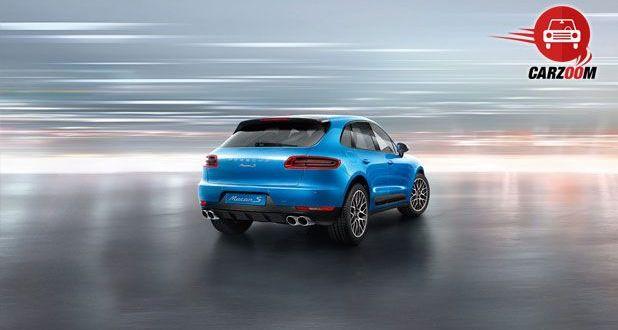 Porsche Macan S Exteriors Back View