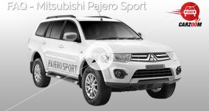 FAQ-Mitsubishi Pajero Sport