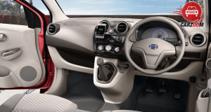 Datsun GO Plus Dashboard