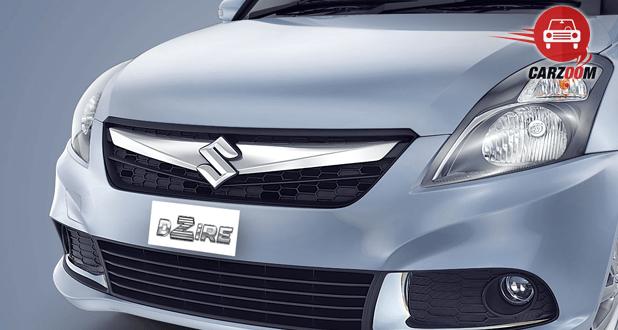 Maruti Suzuki Refreshed Swift Dzire Exteriors Front grill Chrome