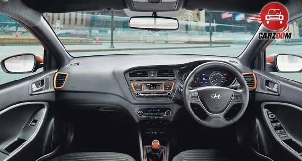 Hyundai i20 Active Interiors Dashboard