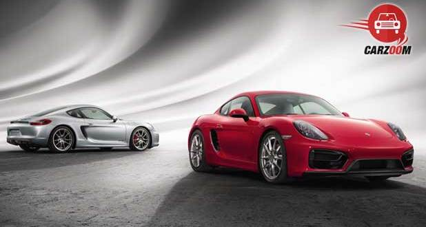 Porsche Cayman GTS Exteriors Side and Front View