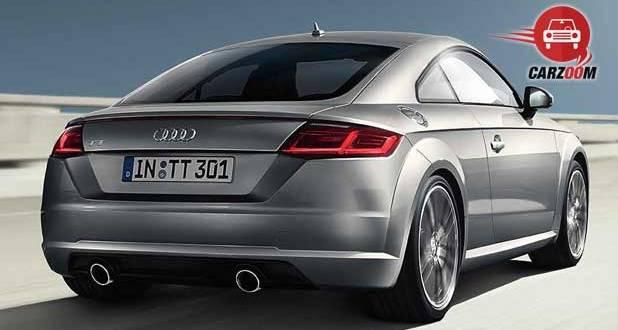 Audi TT Coupe Exteriors Back View