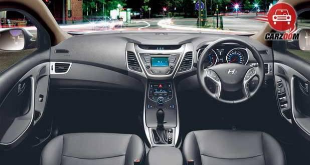 Refreshed Hyundai Elantra Interiors Dashboard
