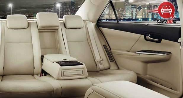 Toyota Camry Interiors Seats View