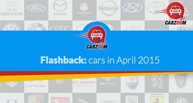 Falshback : Cars in April 2015