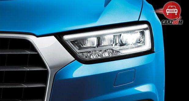 Audi Q3 Exteriors Headlight