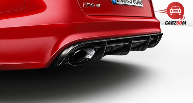 Audi RS 6 Avant Back Bottom View
