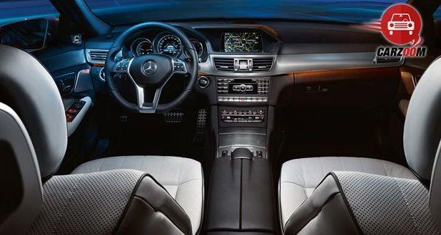 Mercedes Benz E Class Interiors Dashboard View