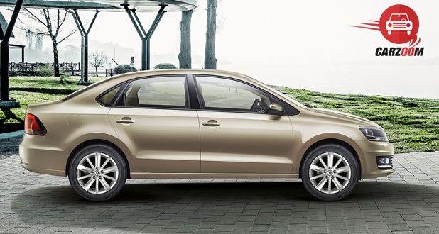 Volkswagen Vento Facelift Exteriors Side View