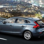 Volvo V40 Exteriors Side and Back View
