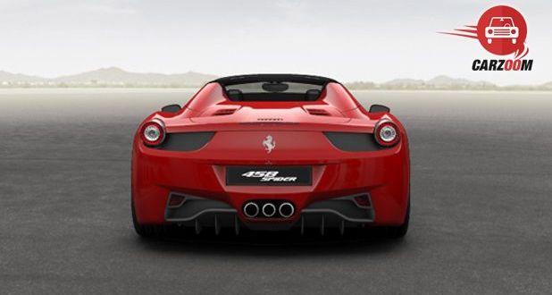 Ferrari 458 Spider Exterior Back
