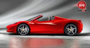 Ferrari 458 Spider Exterior Side View