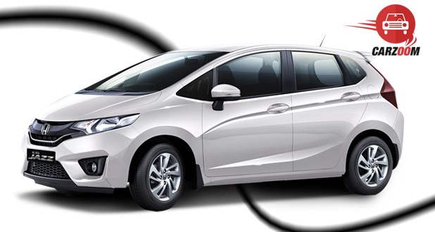 Honda Jazz Exterior White Color