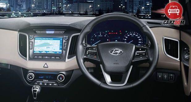 Hyundai Creta Interior Dashboard