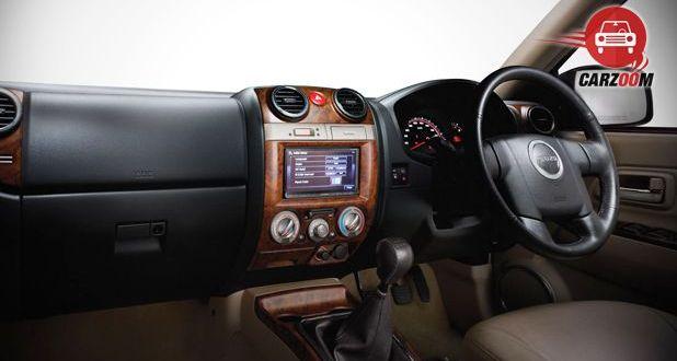 Isuzu MU 7 AT Premium Interior Dashboard