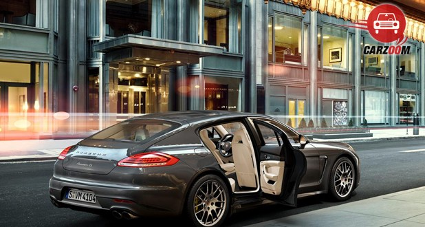 Porsche Panamera Exterior Window ViewPorsche Panamera Exterior Window View