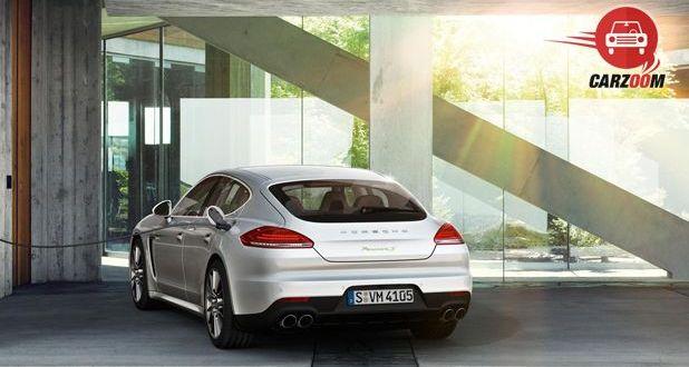 Porsche Panamera Exteriors back