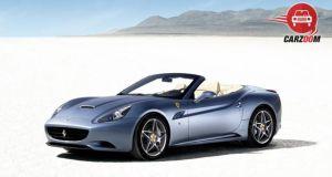 Ferrari California T Exterior Blue Color
