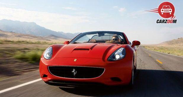 Ferrari California T Exterior Front