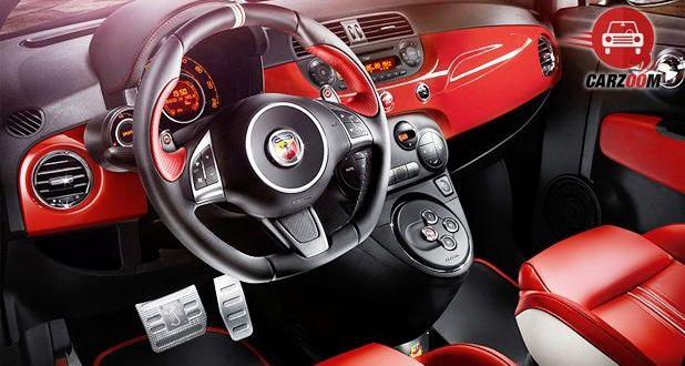 Fiat Abarth 595 Competizione Interior Dashboard View