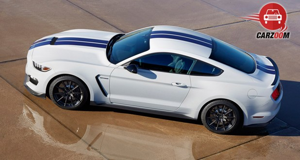 Ford Shelby GT350 Top View