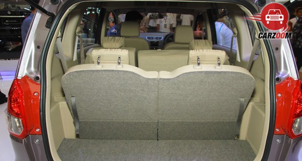 Maruti Suzuki Ertiga Facelift Boot Space View