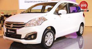 Maruti Suzuki Ertiga Facelift Exterior View