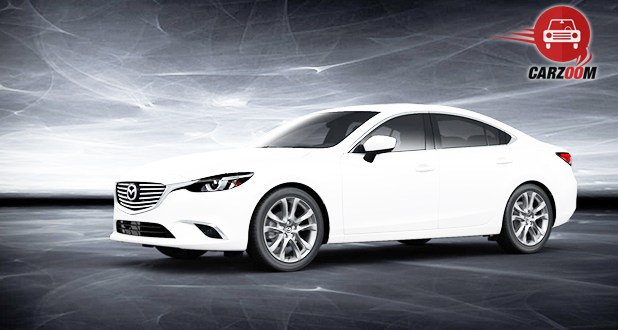 Mazda6 Exterior Side View White Color