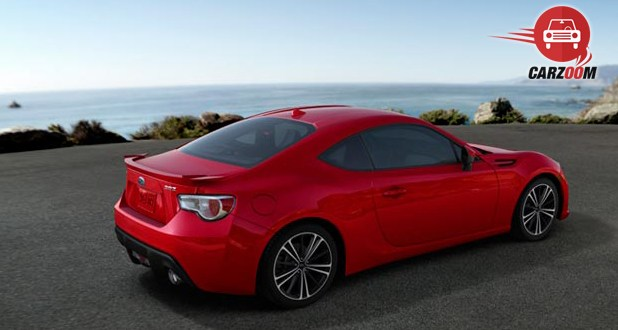 Subaru BRZ Exterior Back and Side View